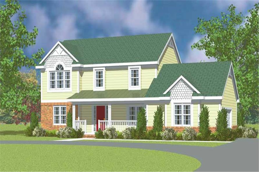 Main image for house plan # 17854