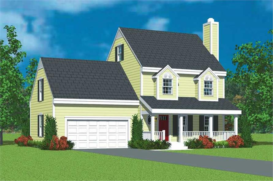 Main image for house plan # 17913