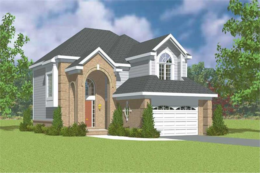 Main image for house plan # 17909