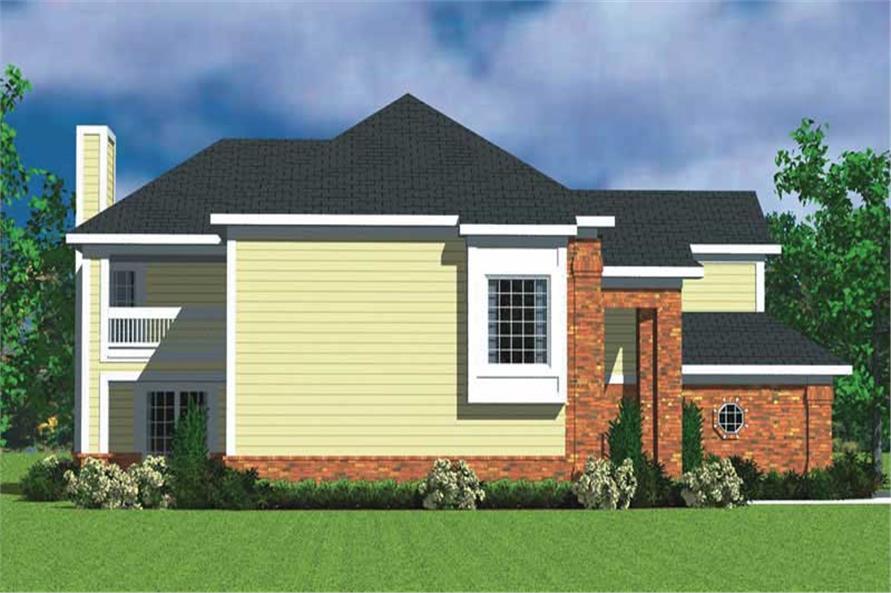 House Plan #137-1134