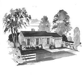 House Plan #137-1135