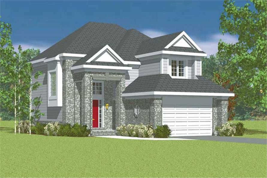 Main image for house plan # 17905