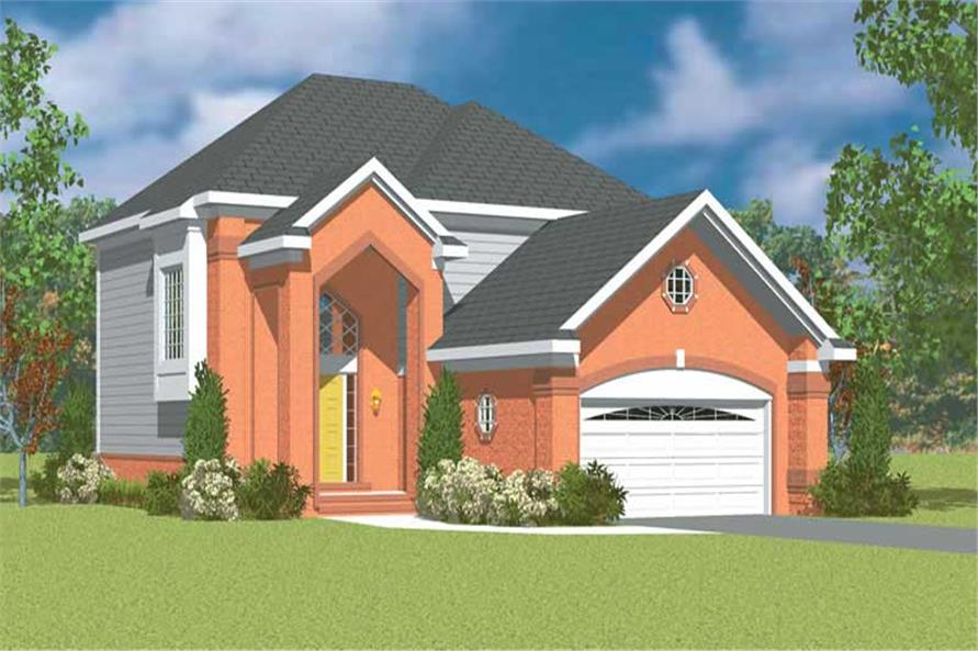 Main image for house plan # 17884