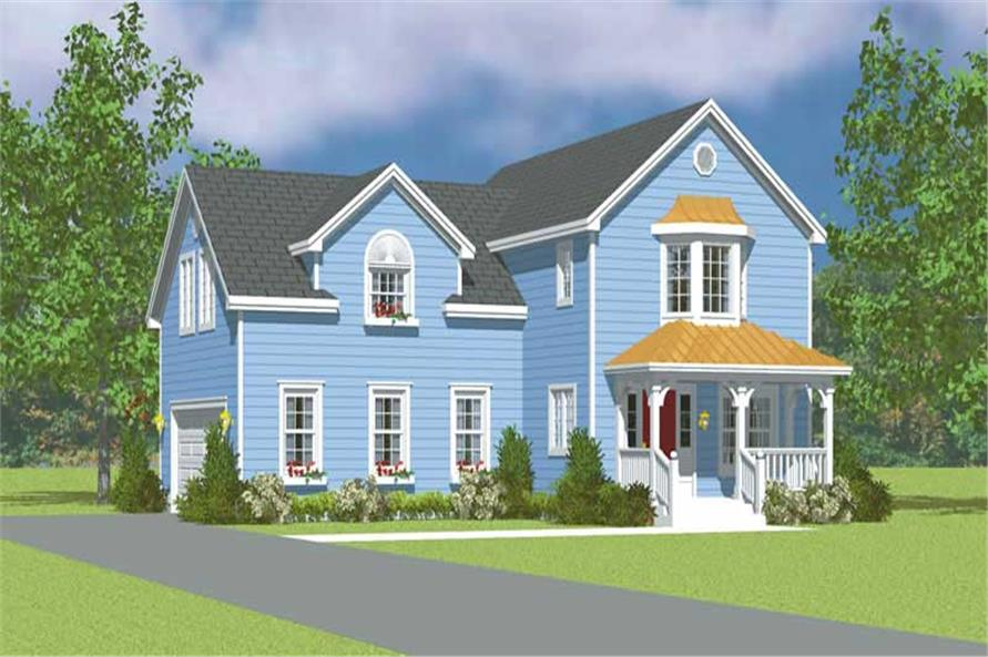 Main image for house plan # 17823