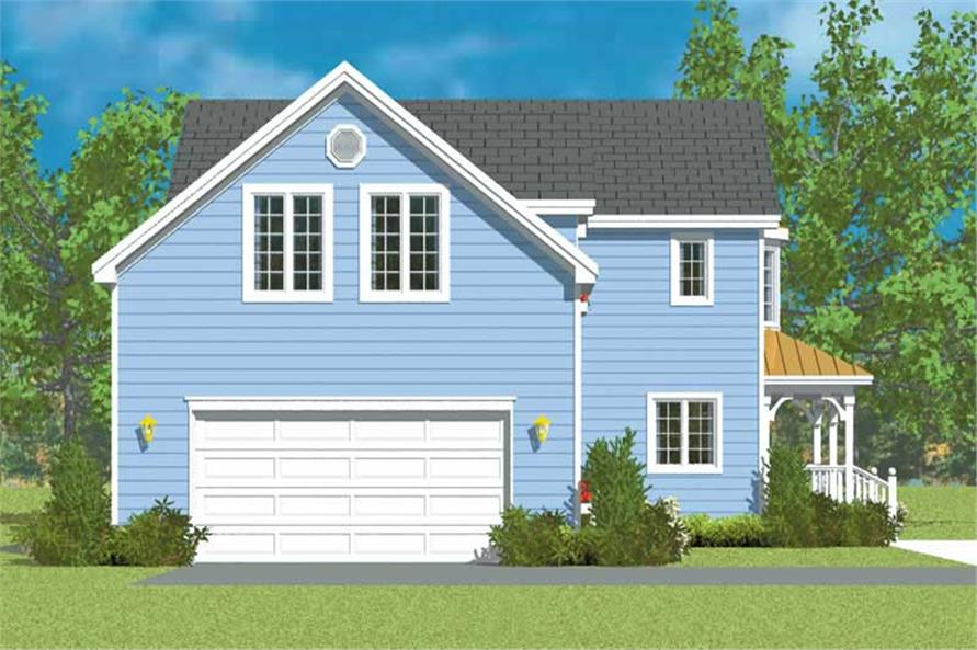 House Plan #137-1139