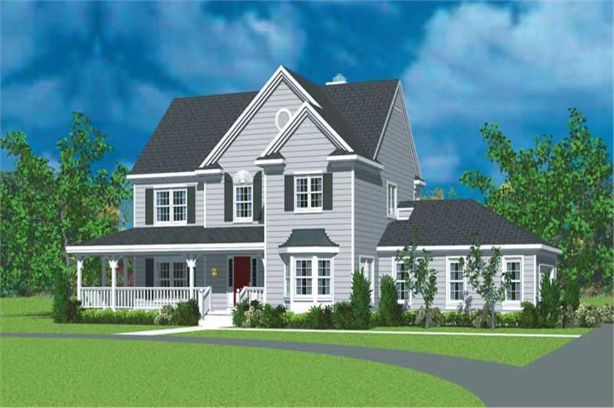 Main image for house plan # 17862