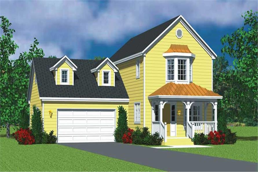 Main image for house plan # 17833