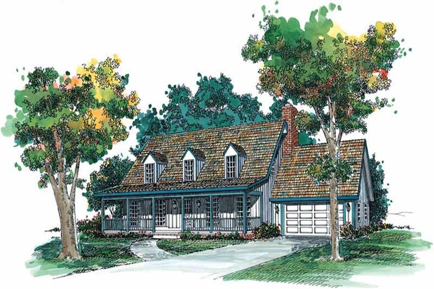 Main image for house plan # 17719