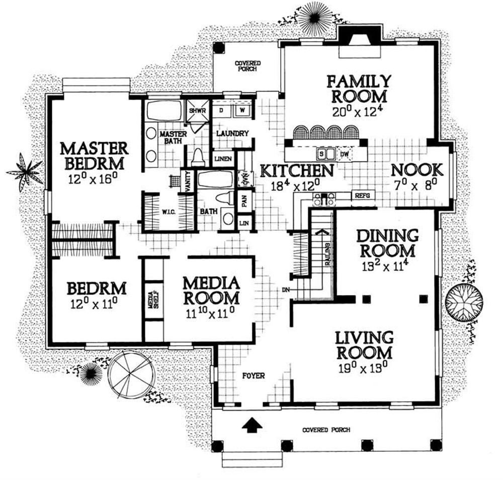 Large Images For House Plan 137 1149
