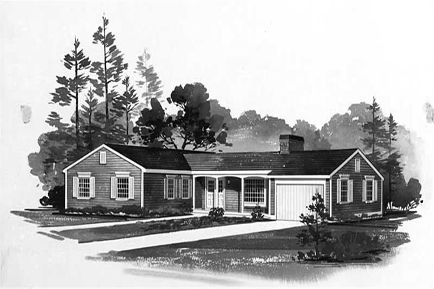 Main image for house plan # 17105