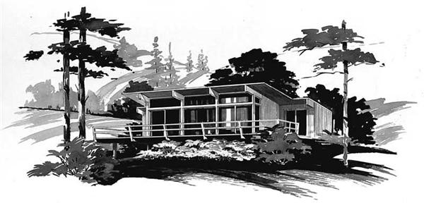 Main image for house plan # 17284