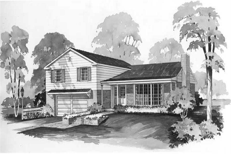 3-Bedroom, 1664 Sq Ft Cape Cod House Plan - 137-1158 - Front Exterior