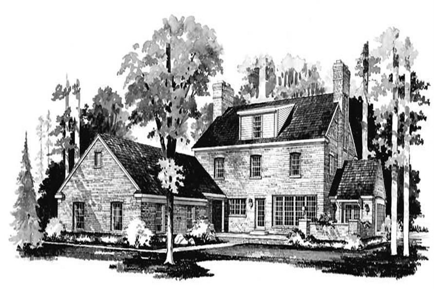 House Plan #137-1159
