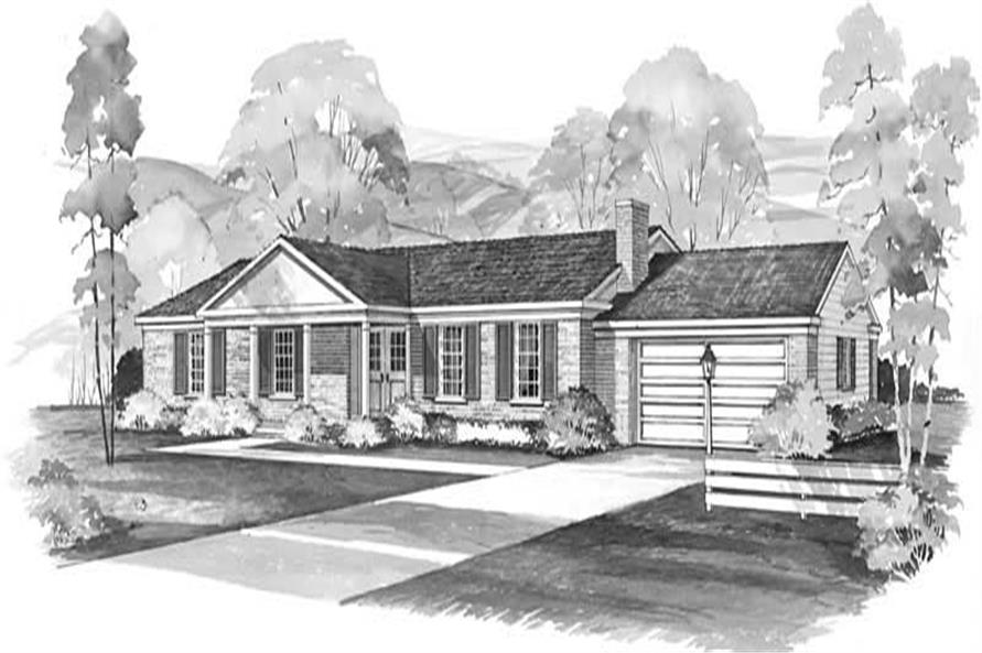 Main image for house plan # 17371