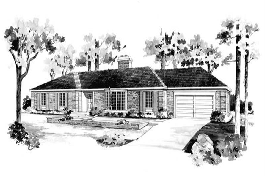 Main image for house plan # 17372