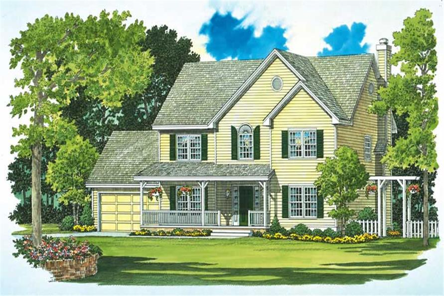 Main image for house plan # 18005