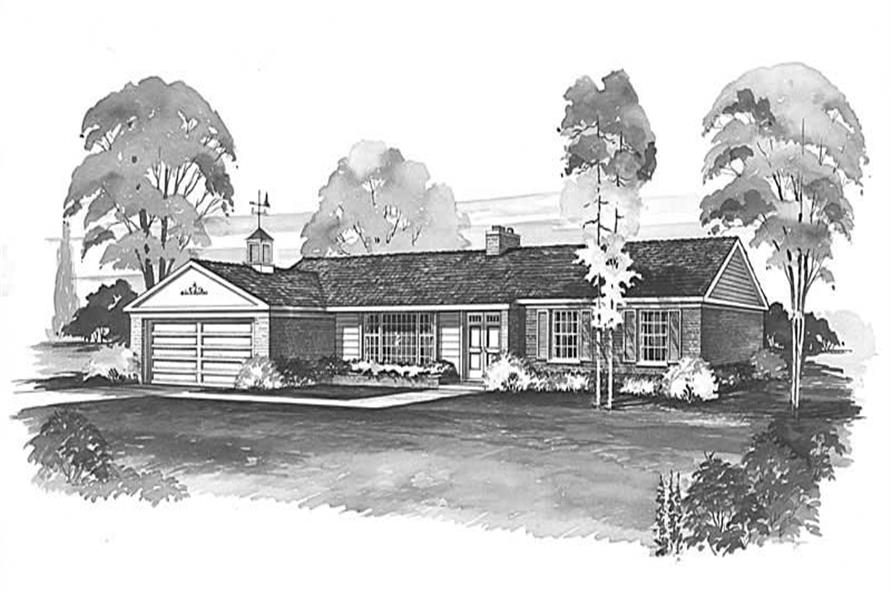 Main image for house plan # 17373