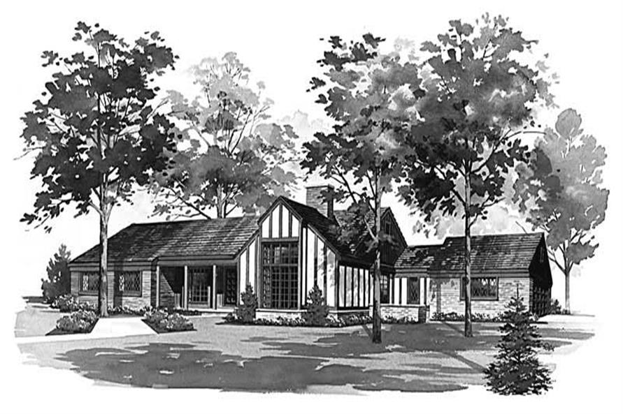 Main image for house plan # 17676