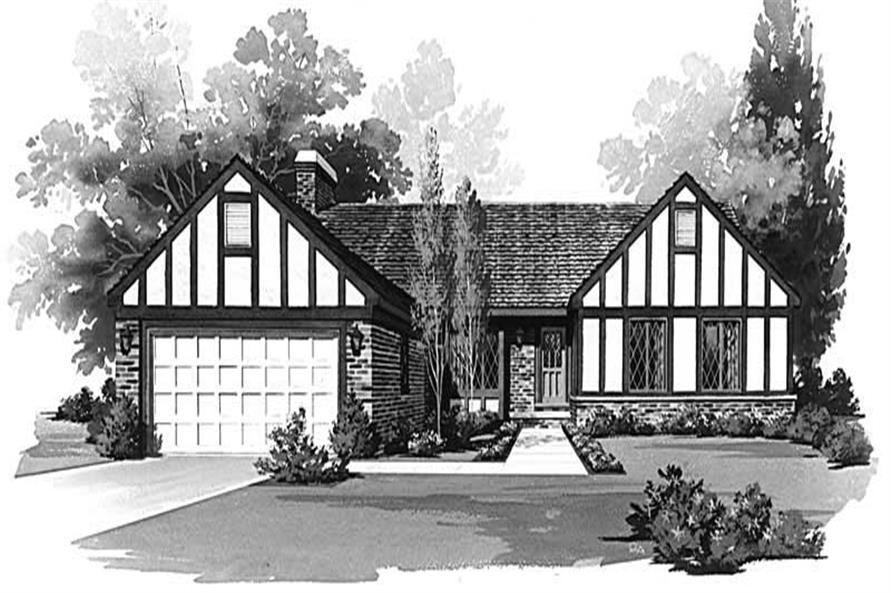 Main image for house plan # 17673