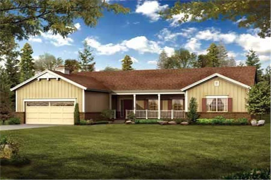 Main image for house plan # 18212