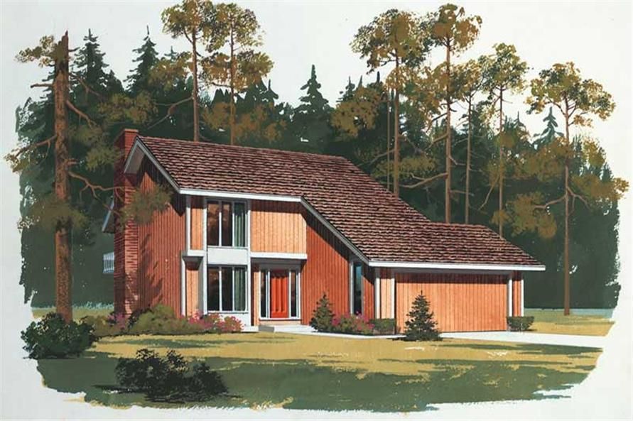 Main image for house plan # 17666