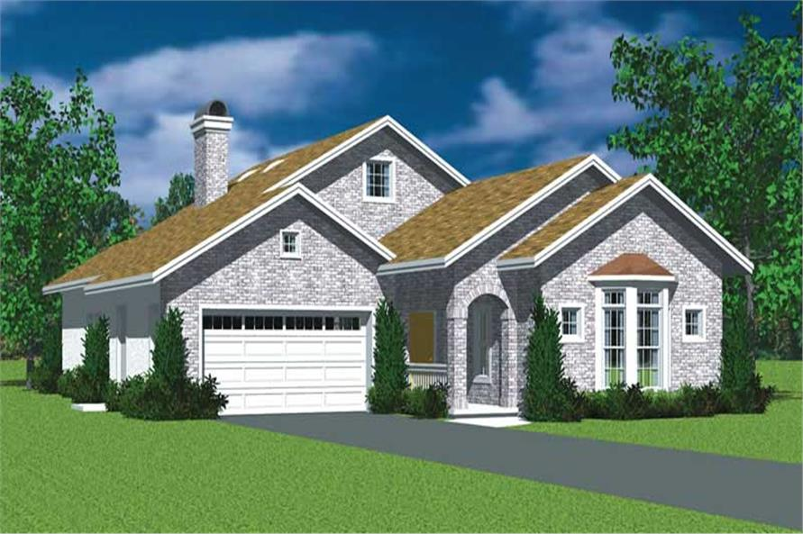 Main image for house plan # 17735