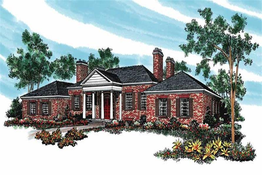 Main image for house plan # 17627