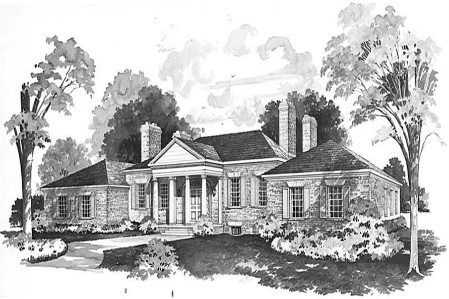 House Plan #137-1180