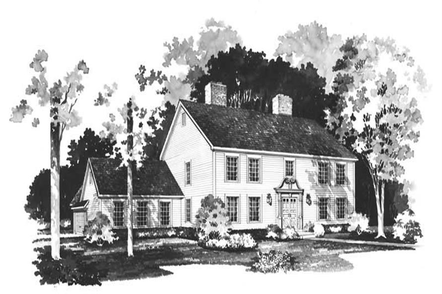 Main image for house plan # 17612