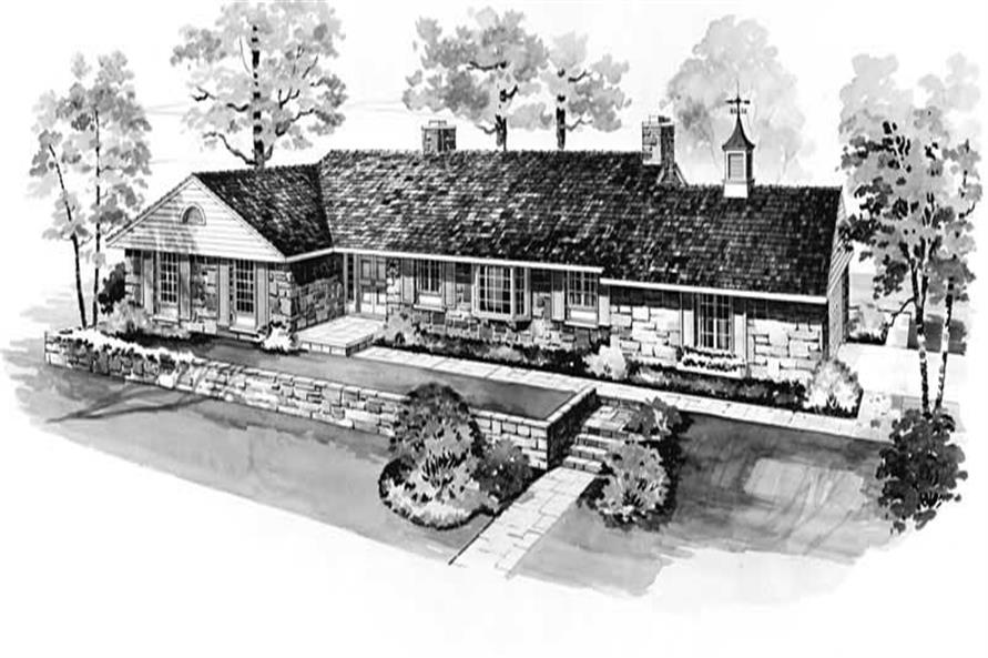 Main image for house plan # 17597