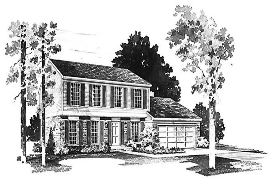 Main image for house plan # 17672