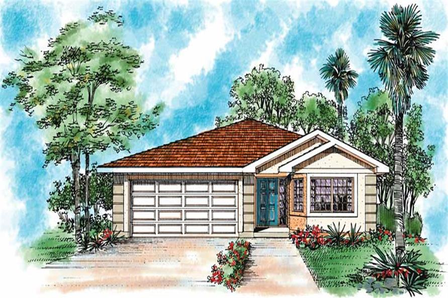 Main image for house plan # 18010