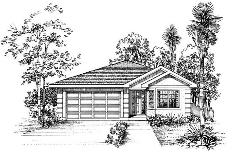 House Plan #137-1189
