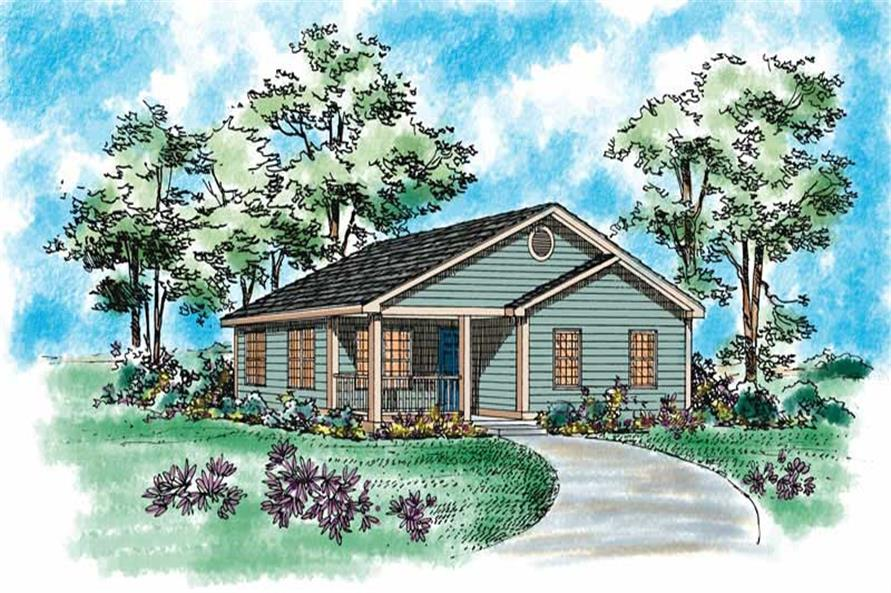 Main image for house plan # 18014