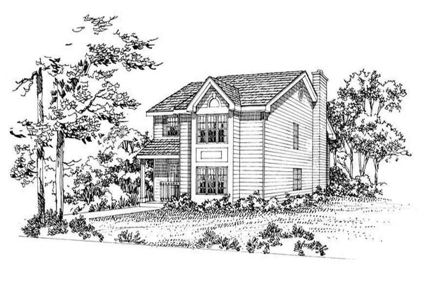 House Plan #137-1198