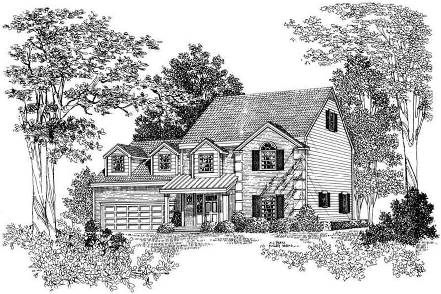House Plan #137-1199