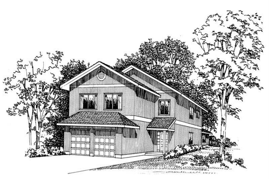 Main image for house plan # 18008