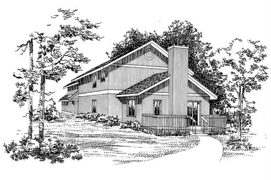 House Plan #137-1200