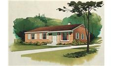 Main image for house plan # 17111