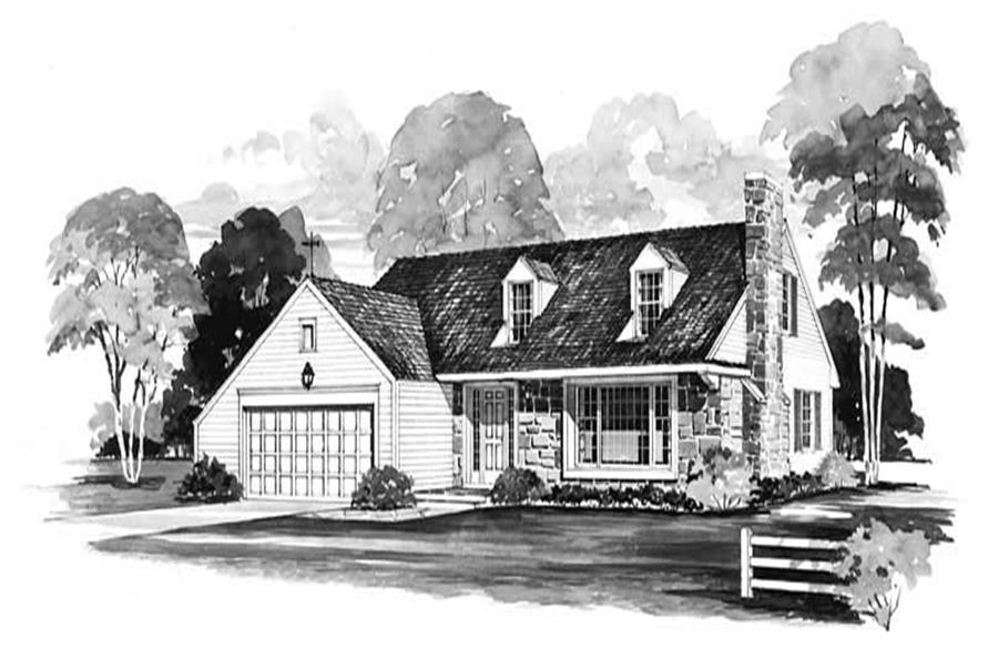 Main image for house plan # 17137