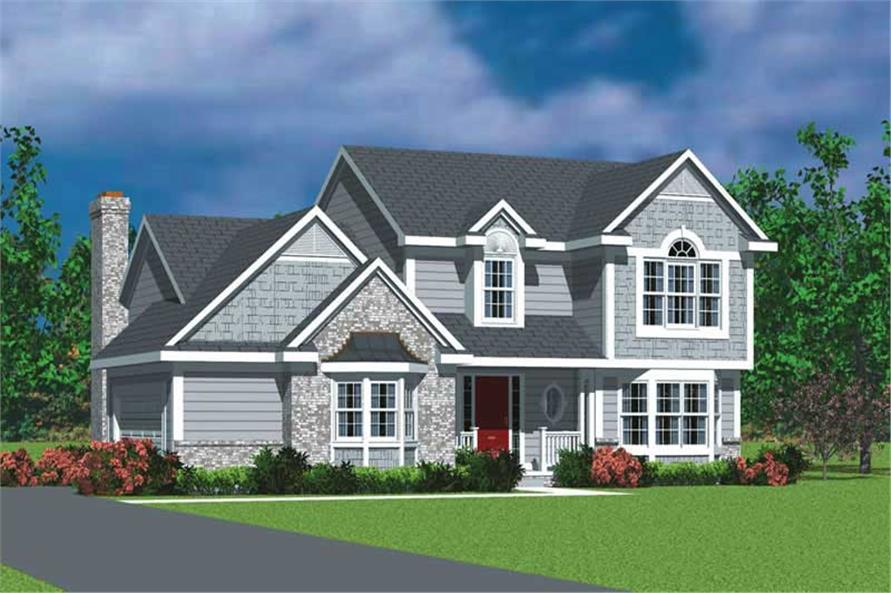 Main image for house plan # 17933
