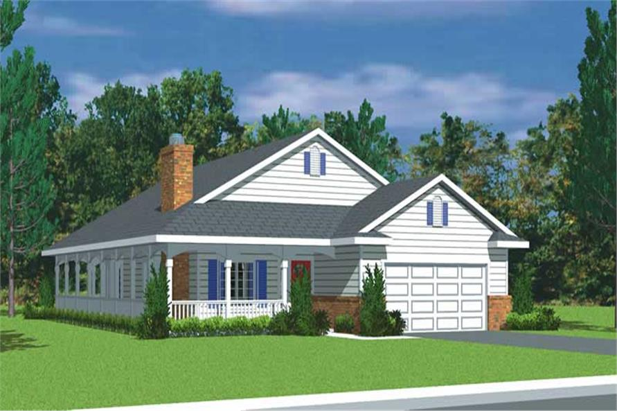 Main image for house plan # 17920