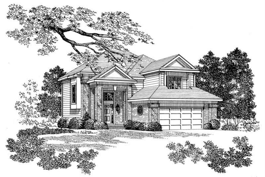 Main image for house plan # 17878