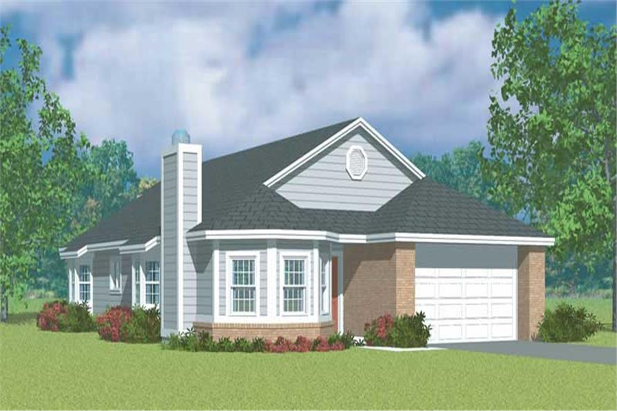 Main image for house plan # 17875