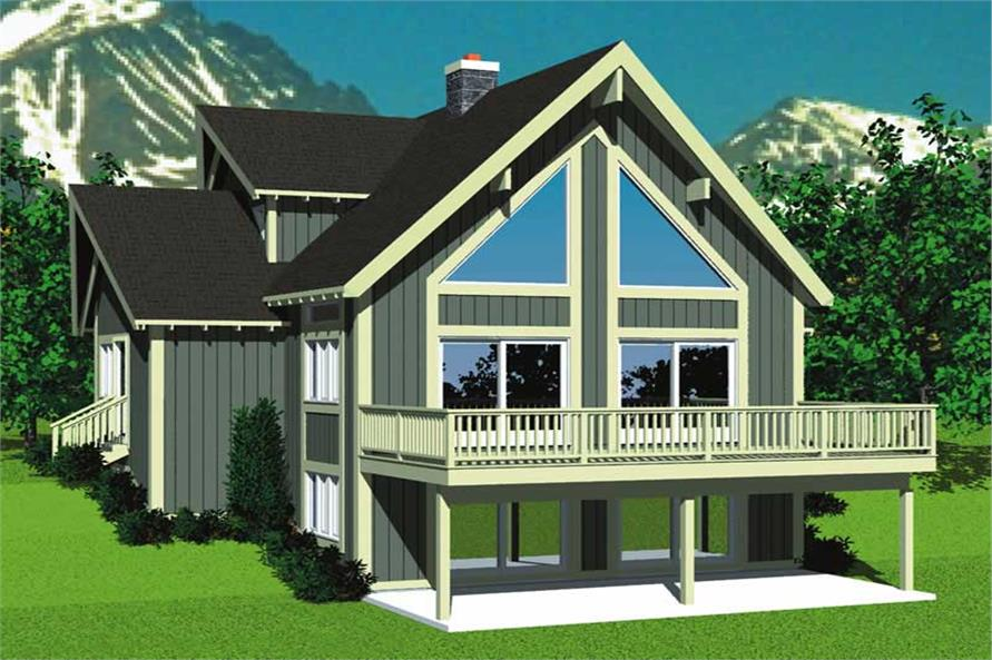 Main image for house plan # 17975