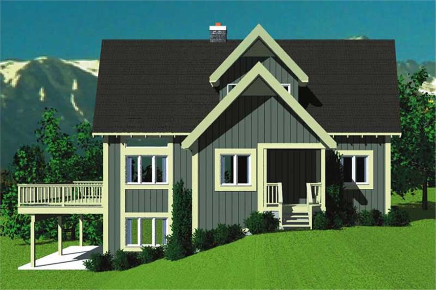 House Plan #137-1226