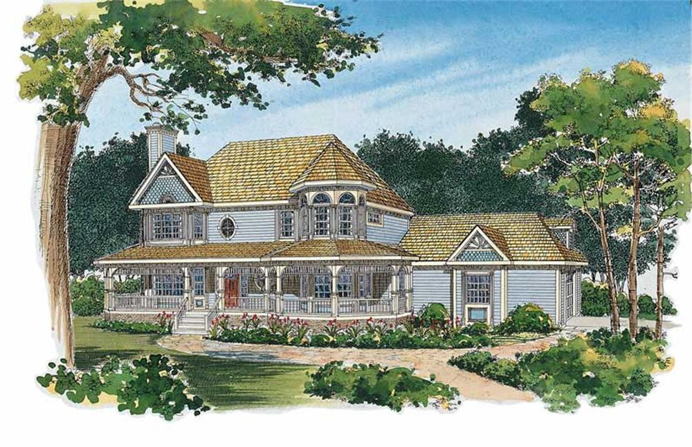Main image for house plan # 17979