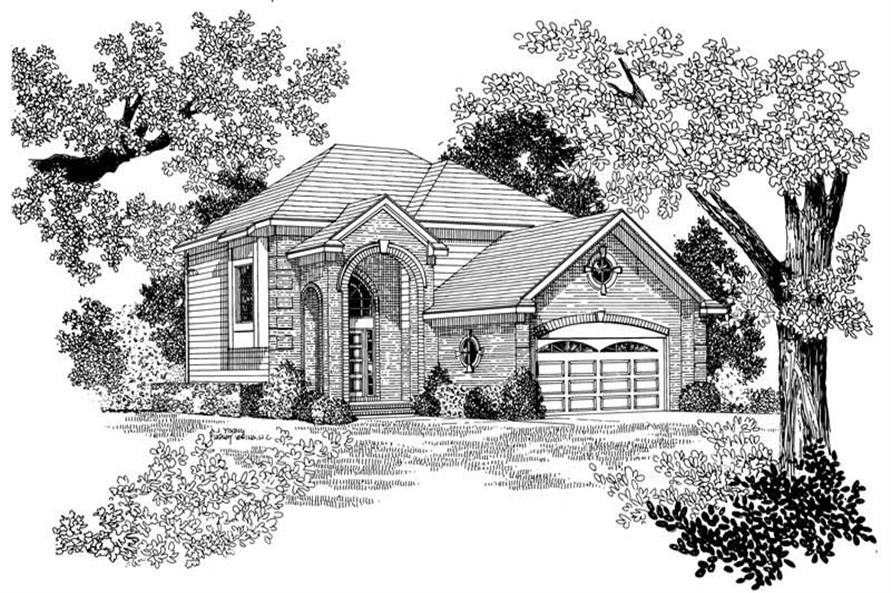Main image for house plan # 17885