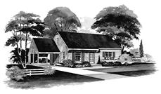 Main image for house plan # 17263