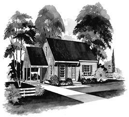 House Plan #137-1233